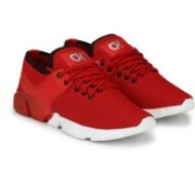 SHOE ROCK VISION(SRV) Panther Series Running Shoes For Men(Red)
