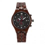 Bedate Women's Maple wood Watch