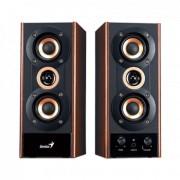 GENIUS zvučnici SP-HF800A 2.0 (Braon/Crni)