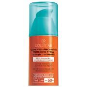 Collistar Crema Viso Abbronzante Protezione Attiva Pelli Ipersensibili SPF 50 50 ml