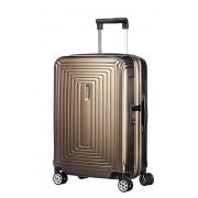 Samsonite Neopulse 55x40x23cm 4 Wheel Spinner Cabin Case - Metallic Sand