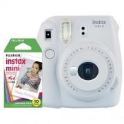 Fujifilm Instax Mini 9 smo white + 10ks film