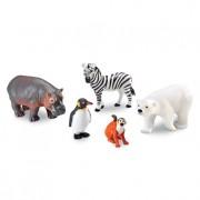 Animale de la Zoo Set figurine mari