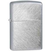 Zippo Classic Herringbone Sweep Brushed Chrome Locking Carabiner(Silver)