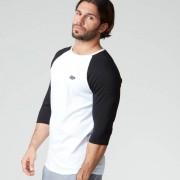 Myprotein T-Shirt de Baseball - XXL - Blanc