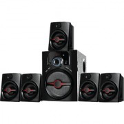 I Kall IK444 Speaker system 5.1 Channel Cum Home Theater without DVD Player 1 Year Manufacturing Warranty