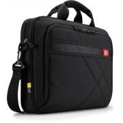 """Geanta laptop 15.6"""" Case Logic, buzunar interior 10.1"""", buzunar frontal, poliester, black """"DLC115"""""""