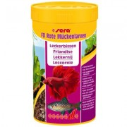 Sera FD Rode Muggenlarven - Dubbelpak: 2 x 250 ml