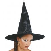 Halloweeni Boszorkány Kalap FEKETE BOSZORKÁNY - 13217