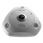 "Camera supraveghere video Hikvision DS-2CD6365G0E-IVS, IP Network Fisheye, 6MP, 1/1.8"" CMOS (Alb)"