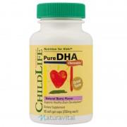 Pure DHA 90 capsule (gust de fructe)