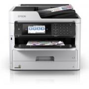 Multifunctional Epson WorkForce Pro WF-C5790DWF, Inkjet, A4, 34 ppm, Duplex, Fax, Retea, Wi-Fi (Alb/Negru)