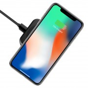 10W Qi Certified Fast Wireless Charger Pad for Apple iPhone X / 8 Plus