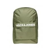 JACK & JONES Logotypprydd Ryggsäck Man Grön