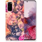 Samsung Galaxy S20 TPU Case Bosje Bloemen