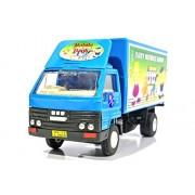 Money Bank Traveler Vehicle (pull back action) (Blue)