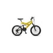 Bicicleta Colli Fulls Gps Aro 20 Dupla Suspensão 21 Marchas - 310.01d