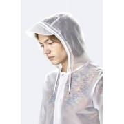 Rains Hooded Coat raincoat vit S-M
