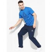 Reebok Men's Navy Polyester Track pant