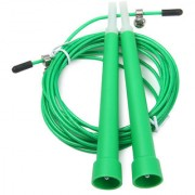 GENERIC Adjustable Speed Wire Jump Cross-FIT Speed Skipping Rope (Color May Vary)