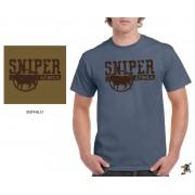 "Sniper Men ""Buffalo"" T-Shirt (Denim)"