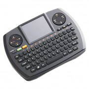 Wireless Ultra Mini Touchpad Keyboard, Black