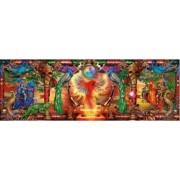Puzzle panoramic Schmidt - Ciro Marchetti Kingdom Of The Firebird 1000 piese