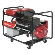 HW 220 Generator sudura industrial 200 A DC , trifazat 6.5 kVA , motor Honda