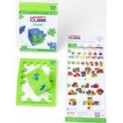 Jucarie JUNIOR Happy Cube MINI Multicolor