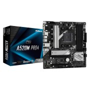 MB ASRock A520M Pro4, AM4, micro ATX, 2x DDR4, AMD A520, 36mj (90-MXBDU0-A0UAYZ)