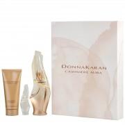 DKNY Cashmere Aura Eau de Parfum 100ml, Body Lotion and 10ml Rollerball Set