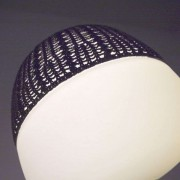 Net for table lamp Afra, black