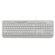 MS WK 600 WS - Tastatur, USB, weiß
