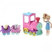 Игрален комплект Barbie - Кукла Челси с влакче, 1710080