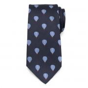 Férfi selyem nyakkendő hőlégballonos mintával 9785