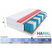 EMWOmeble MATERAC KIESZENIOWY + VISCO - MODEL HAMAL 160x200x18 TW. H4