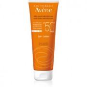 Avène Sun Sensitive leche protectora para pieles sensibles SPF 50+ 250 ml