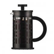 Bodum EILEEN Cafetière à piston, 3 tasses, 0.35 l, acier laqué Noir