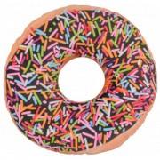 Merkloos Rond donut kussen 36 cm