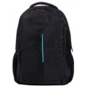 Tech Aura 15.6 inch Laptop Backpack(Black, Blue)