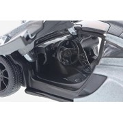 McLaren P1, Gray - Kinsmart 5393D - 1/36 Scale Diecast Model Toy Car