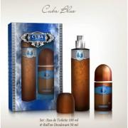 Cuba Blue - zestaw, woda toaletowa, roll on