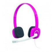 Logitech Auriculares Logitech Stereo Headset H150 Rosa