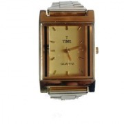 TIME golden stylish watch (new arrivals)