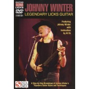 Johnny Winter: Legendary Licks Guitar [DVD]
