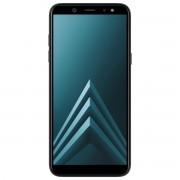 Telefon mobil Samsung Galaxy A6 (2018) Dual Sim 4G, Black, 5.6'', RAM 3GB, Stocare 32GB