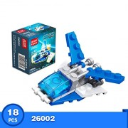 Generic 10 Kinds Transportation Block Car Building Blocks Compatible legoeINGlys Duplo Soliders Police Bricks 26002
