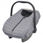 vidaXL Baby Carrier/Car Seat Cover 57x43 cm Grey