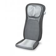 Husa de scaun pentru masaj shiatsu MG260 HD 2 in 1 (negru)