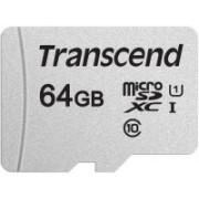 Transcend 300S 64 GB MicroSDHC Class 10 95 MB/s Memory Card